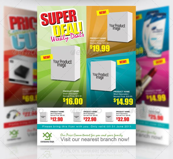 11 Free Psd Product Flyer Templates Images Product Promotion – Free Product Flyer Templates