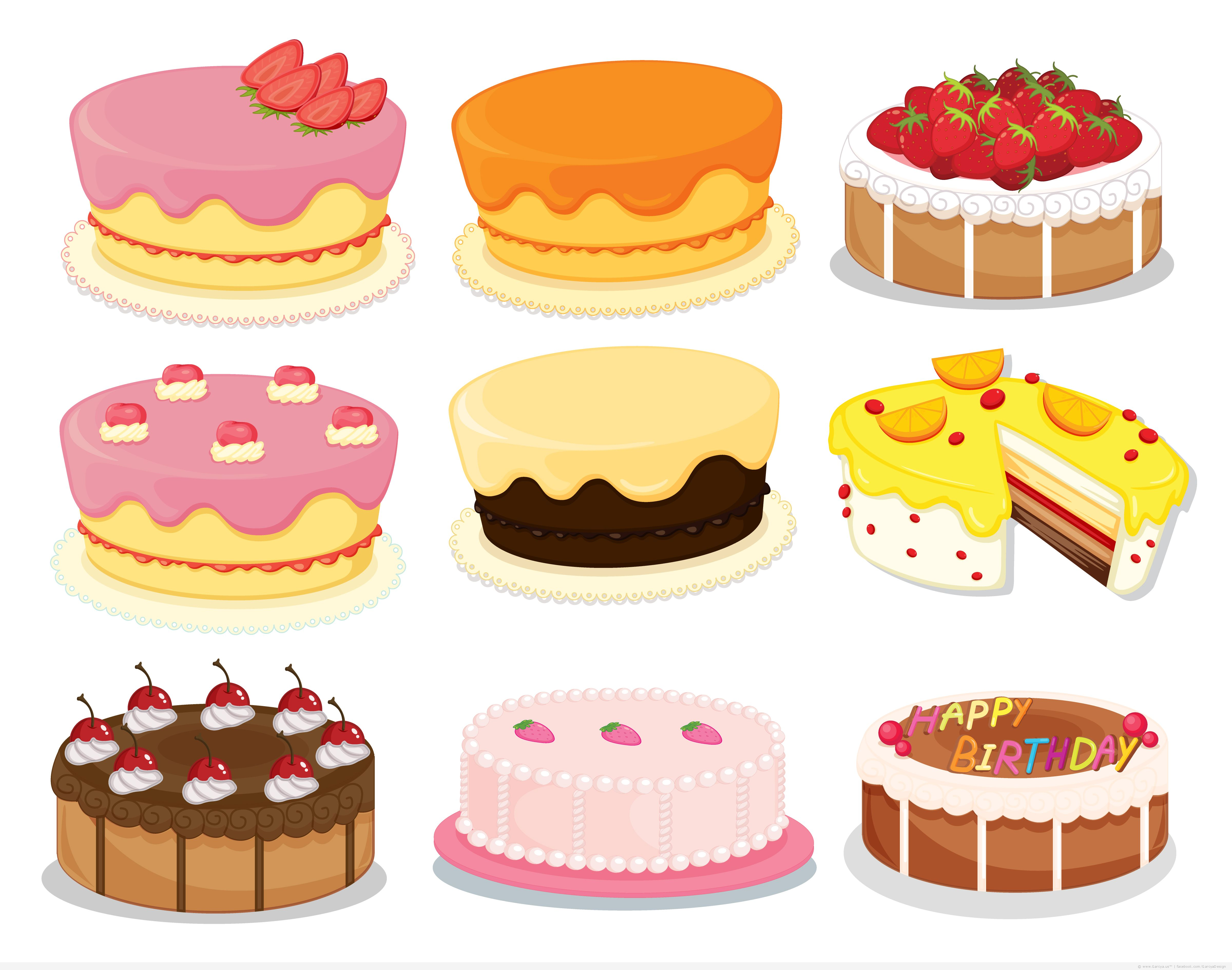 Free Download Of Cake Images : 19 Cake Vector Free Images - Birthday Cake Vector Free ...