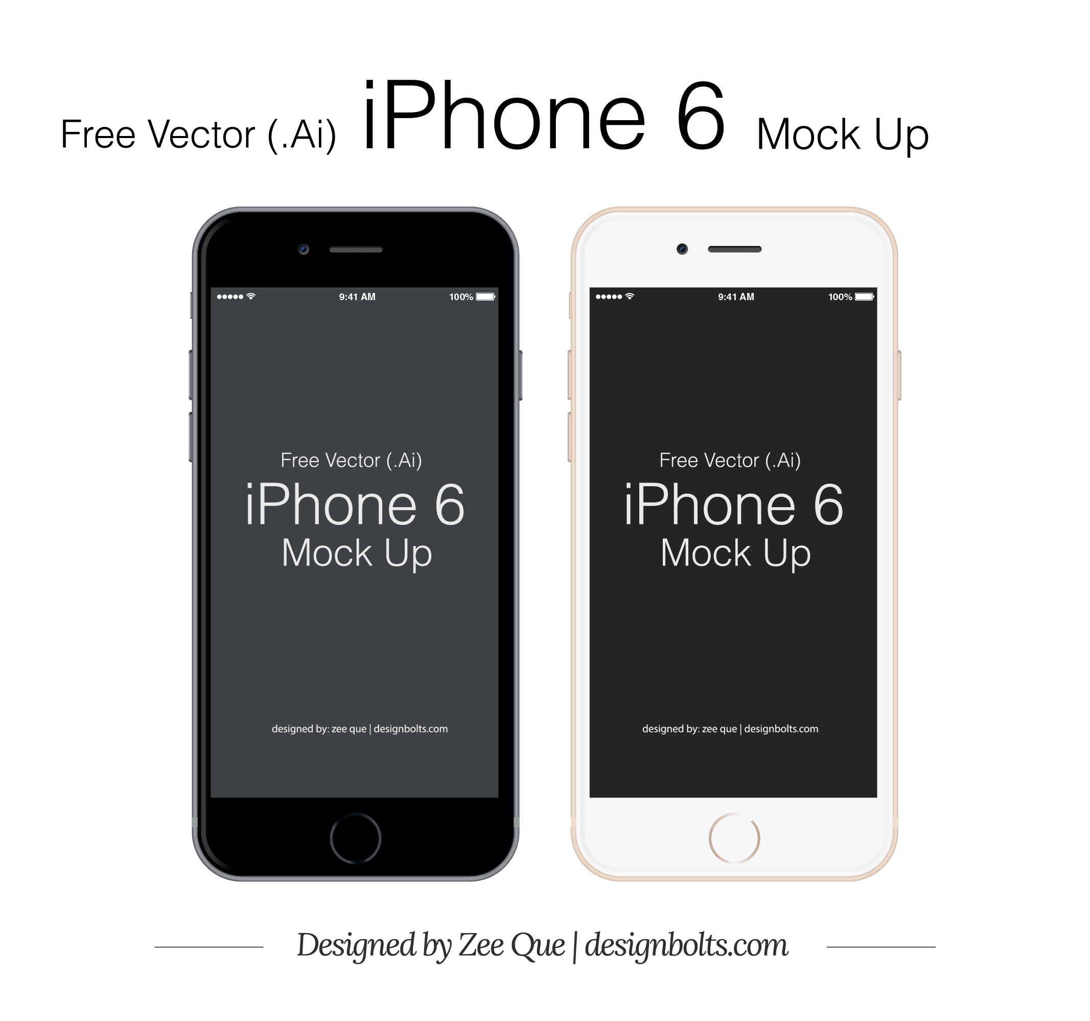 Free Vector iPhone 6