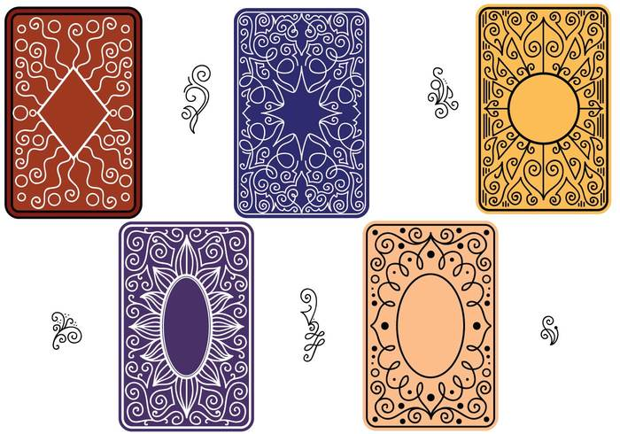 Free Vector of Playing Card Back