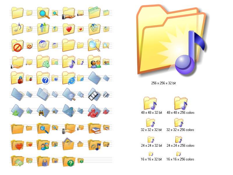 Free Windows Folder Icons
