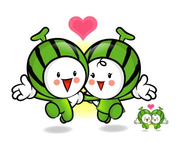 Fruit Cute Love Cartoons