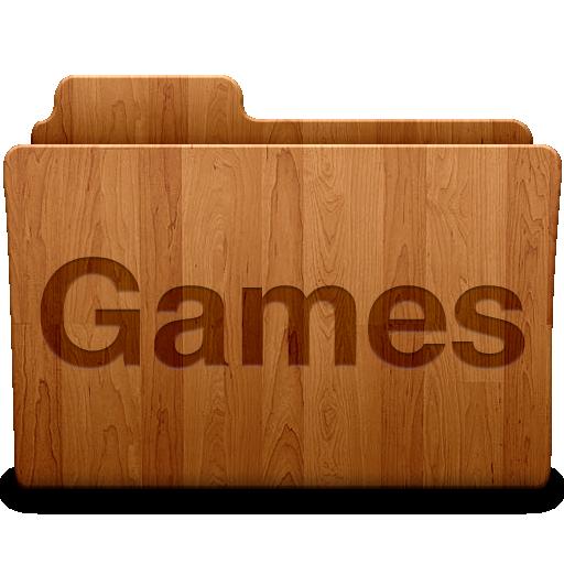 Games Folder Icon Desktop