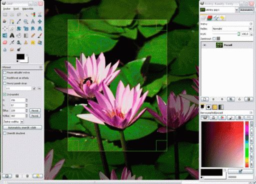 GIMP Photo Editing Software