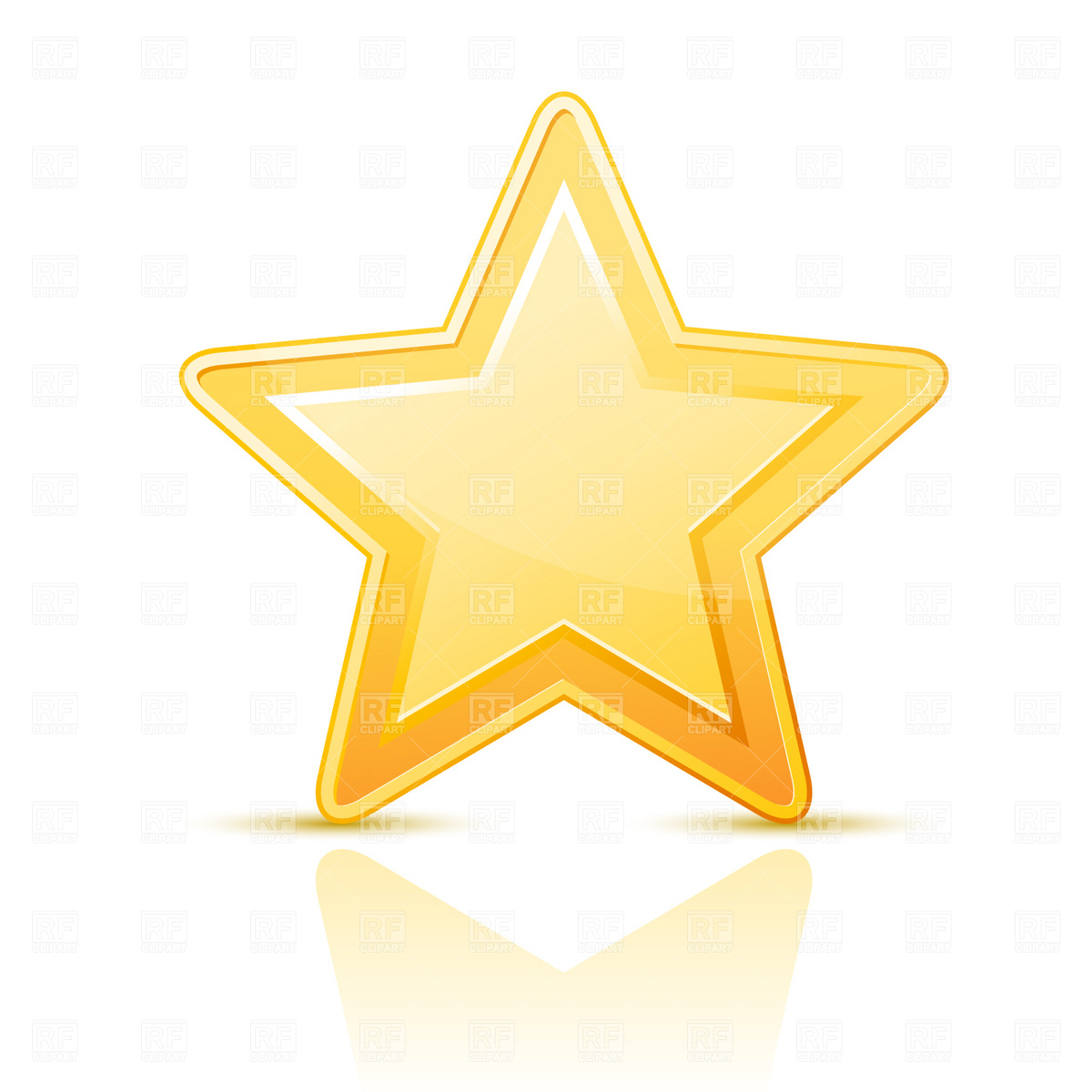 13 Gold Star Vector Images