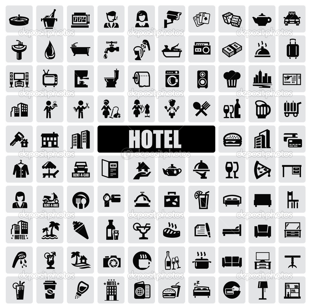 8 Hotel Icon Free Images