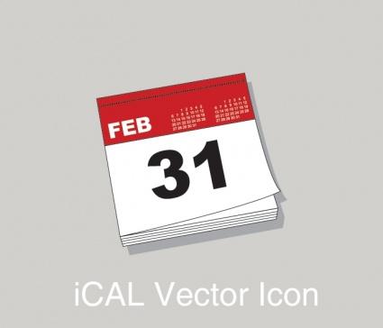 iCal Calendar Icon