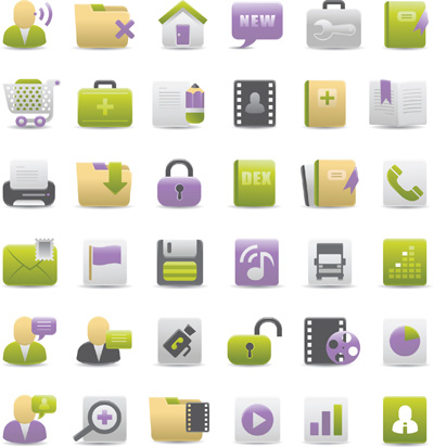 Icon Vector Design Material