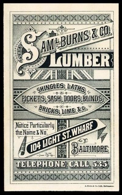 14 Old Poster Font Images