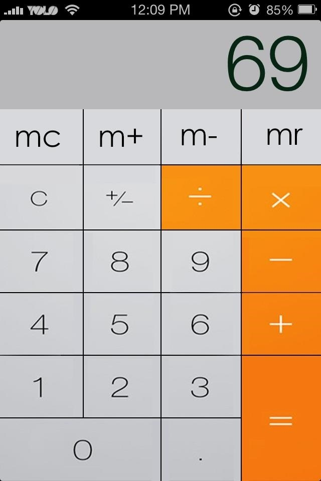 7 IOS 7 Calculator Icon Images - Calculator App Icon iOS 7