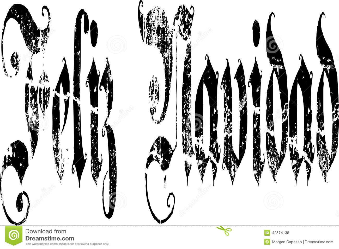 Merry Christmas Written Fonts