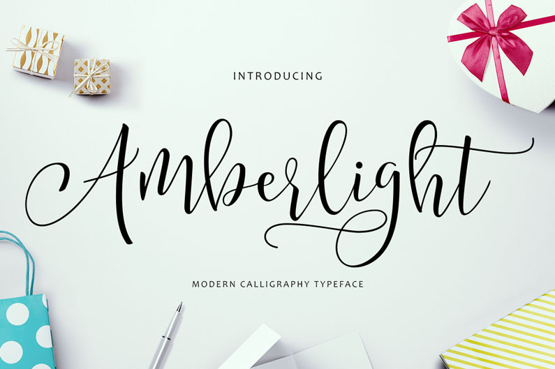 ... Calligraphy Script Font and Modern Script Fonts / Newdesignfile.com