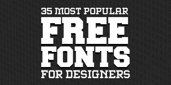 14 Most Popular Fonts Images Most Popular Script Fonts