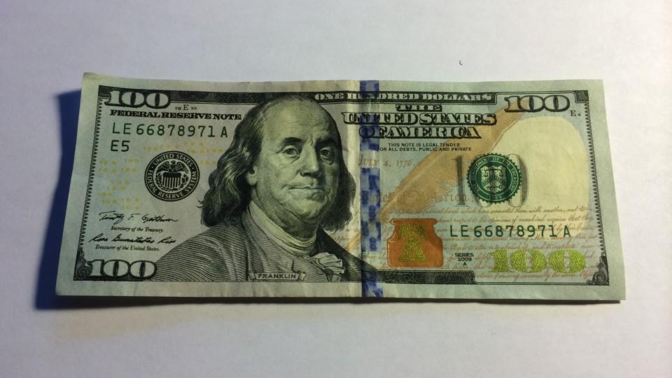 19 new 100 dollar bill vector images