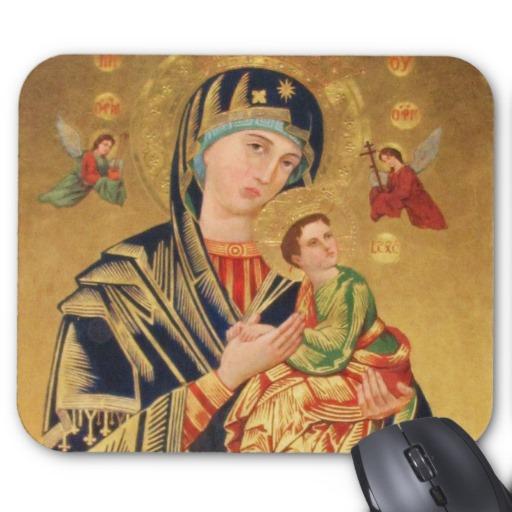 Orthodox Icon Virgin Mary and Jesus