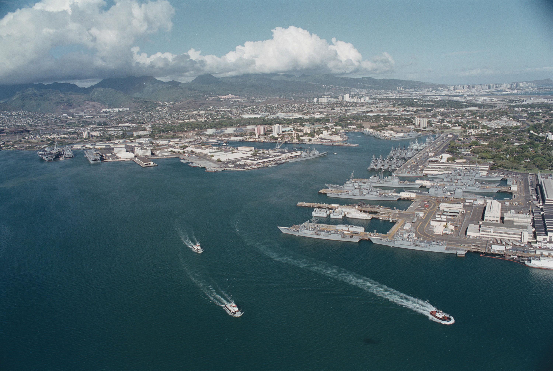 13 Navy PSD Pearl Harbor Hawaii Images