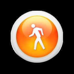 8 Walking Icon Orange Images Person Walking Icon Walk Icon Vector And Dog Clip Art Orange Newdesignfile Com