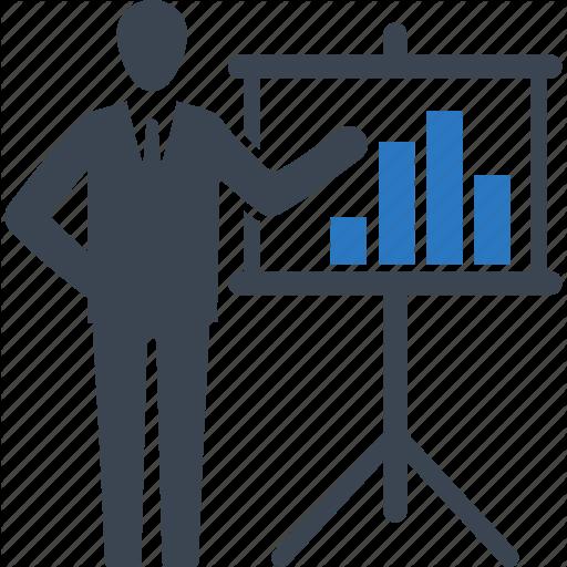 Person Data Analysis Icon