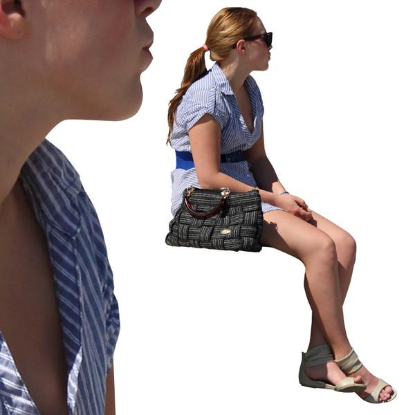 Photoshop Person Sitting