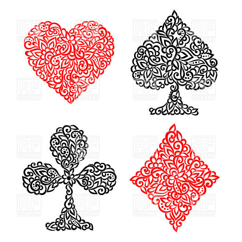 Playing Card Suit Clip Art Free