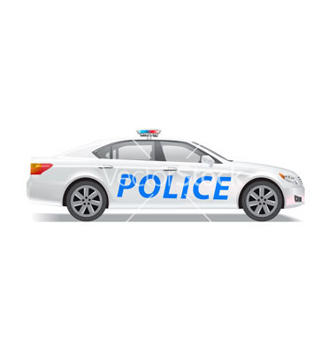 19 Police Car Vector Images
