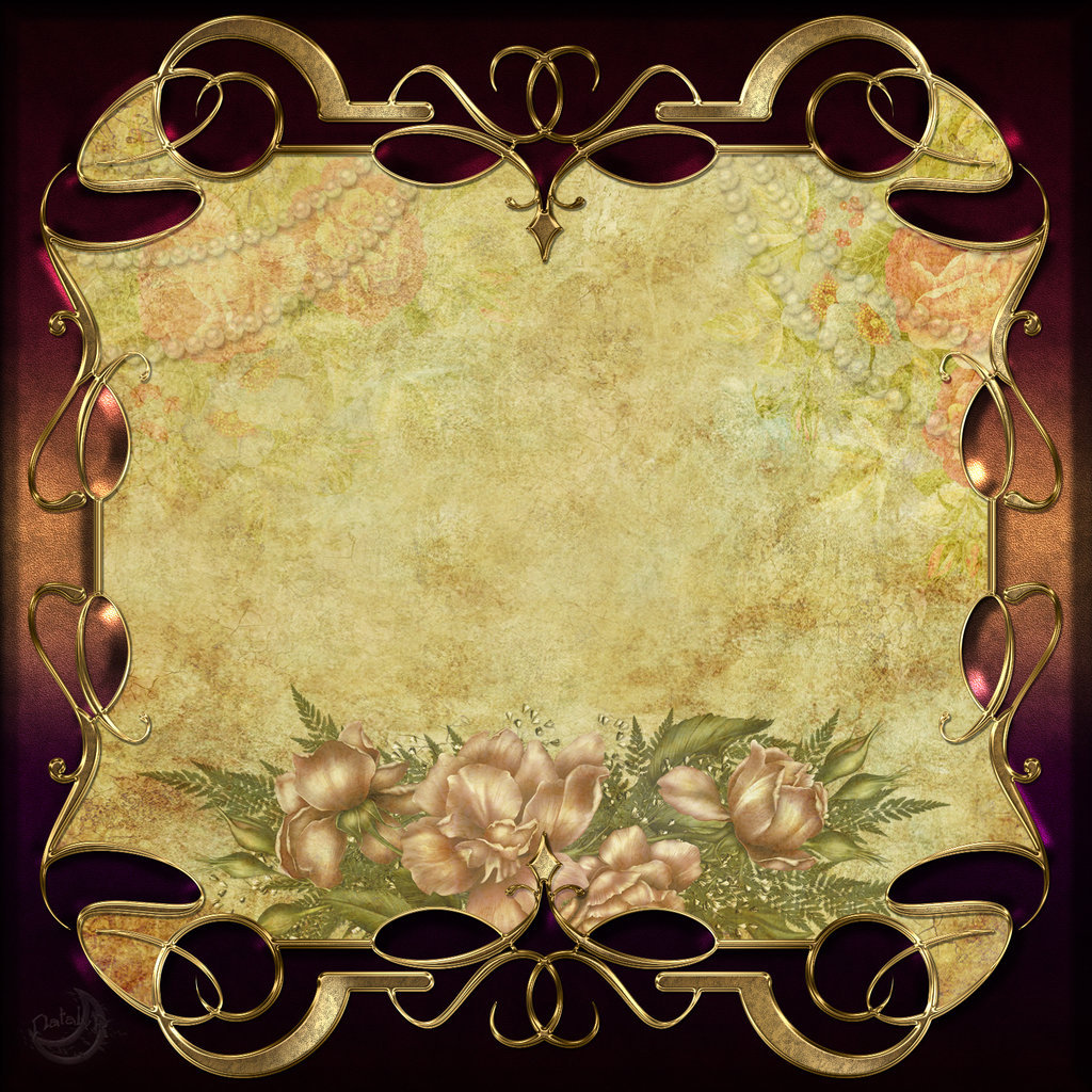 PowerPoint Background Vintage Frames