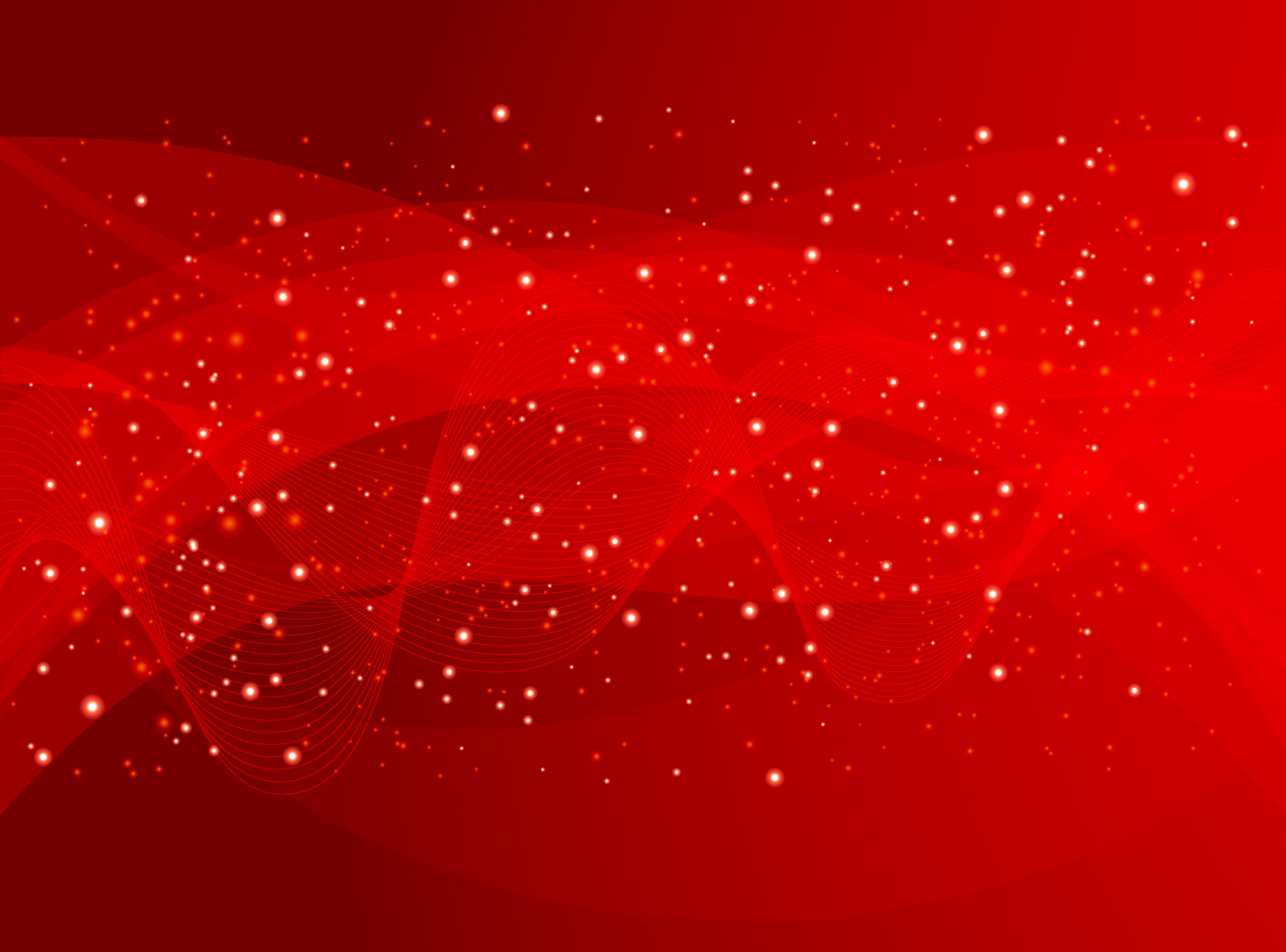 Red Abstract Background Vector Free