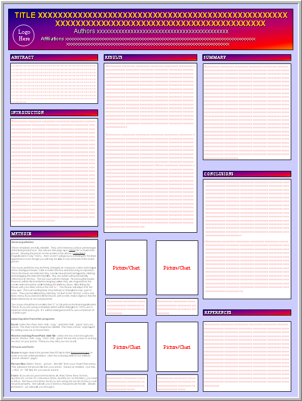 research poster design template - Free Poster Design Templates