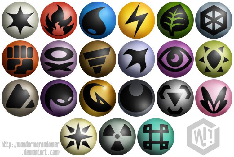Post Pokemon Type Icons 339980