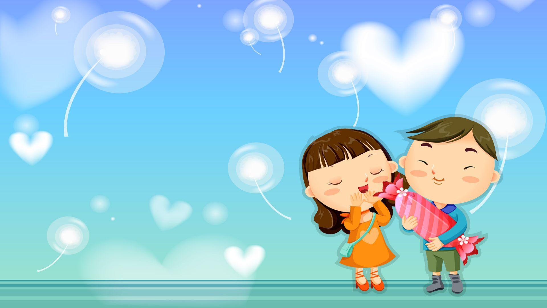 Romantic Love Cartoons
