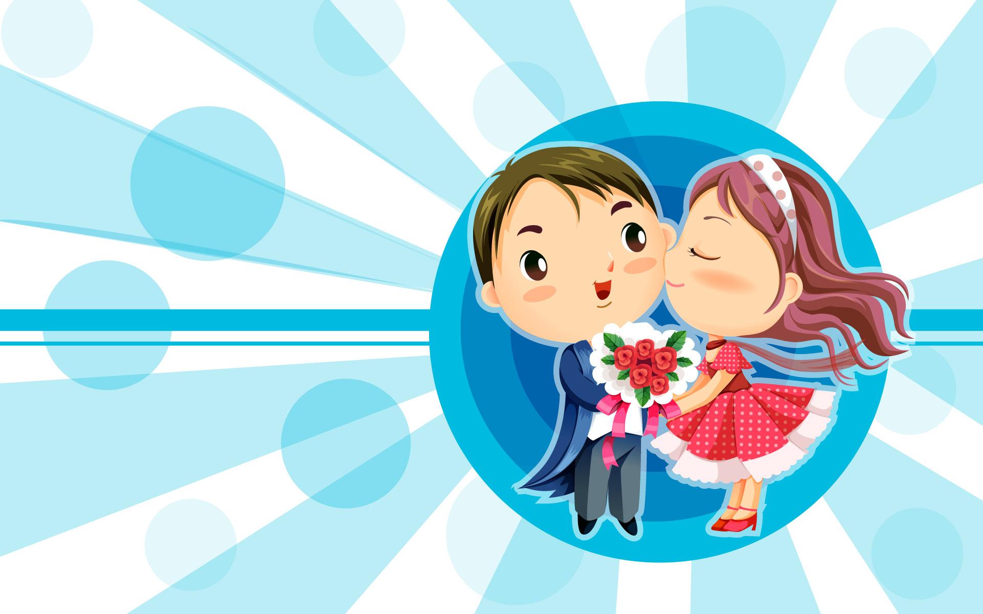 Romantic Love Wallpaper Cartoons