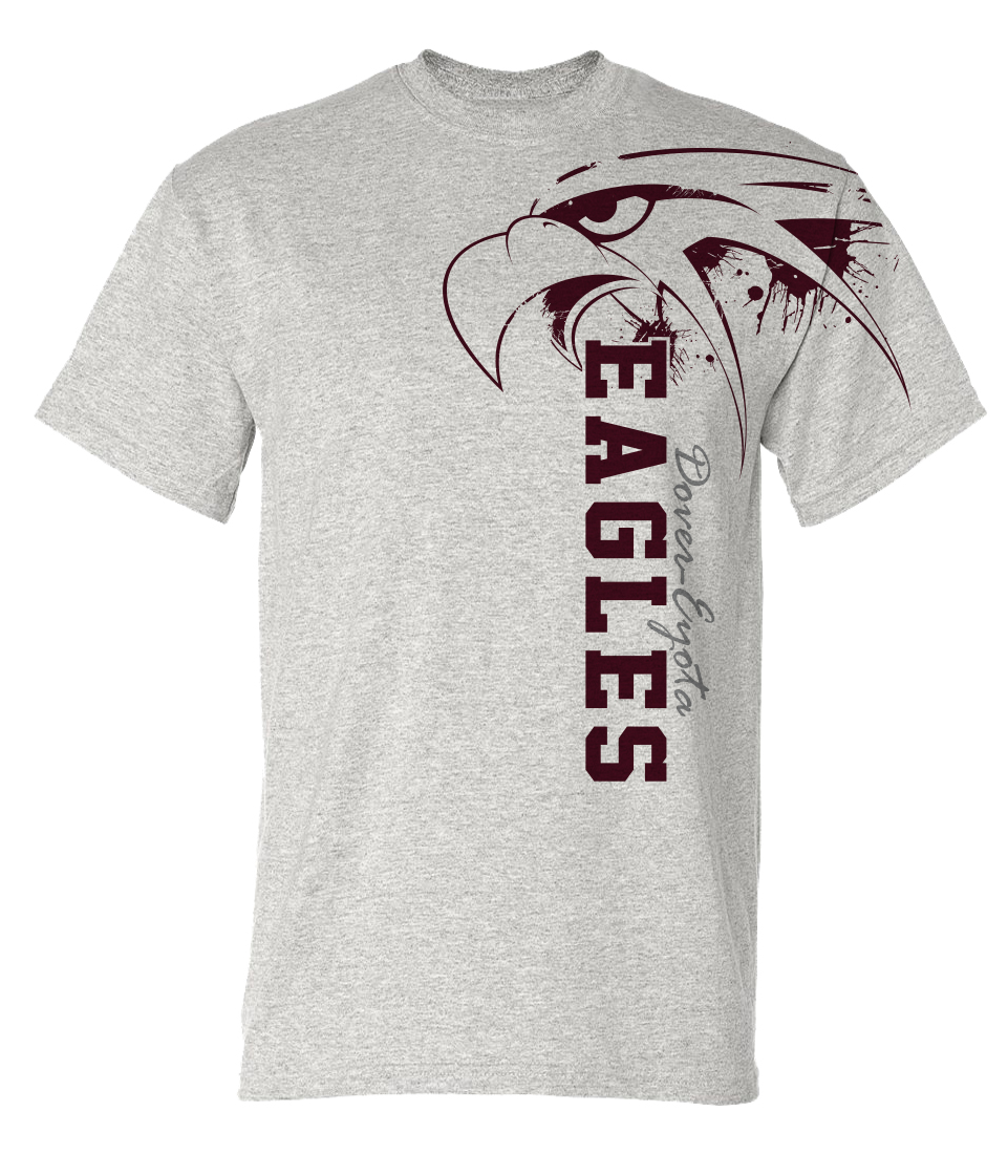 High School Spirit T Shirt Designs
