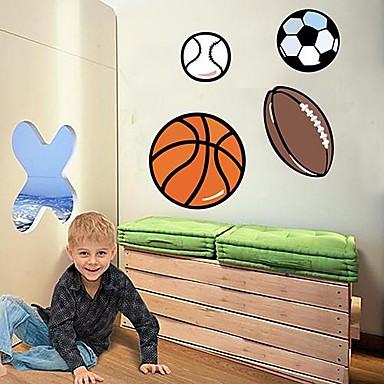 Soccer Wall Decals Removable