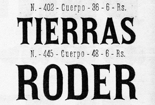 Spanish Fonts Types
