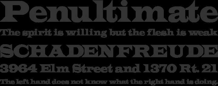 Spanish Style Fonts