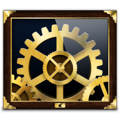 System Preferences Icon Steampunk