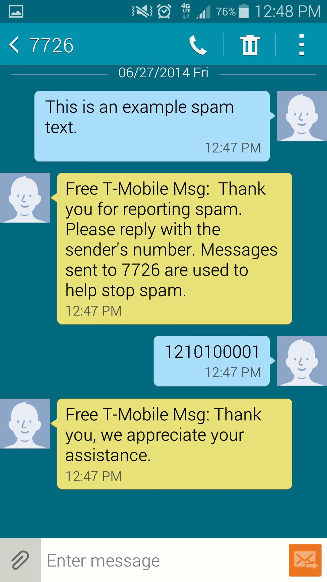 Text Messages Samsung Galaxy S5