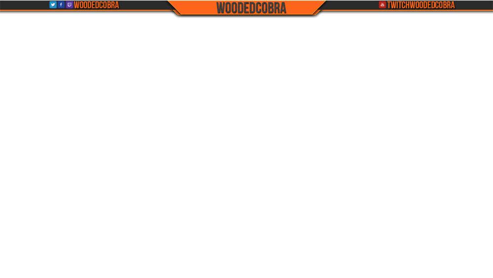 14 Custom Twitch Overlays PSD Images