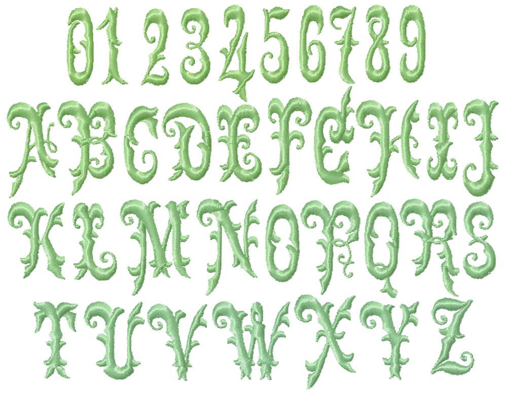 Antique victorian fonts images font