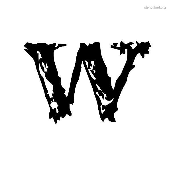9 Vintage Stencils Font Images - Free Alphabet Stencil Font
