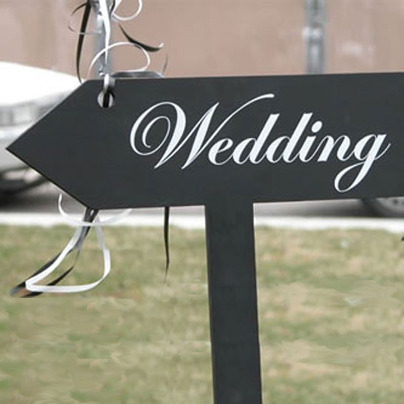 13 Wedding Reception Sign Font Images