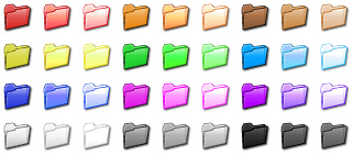 13 Microsoft Folder Icon Color Images