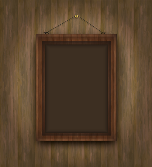 Wooden Frames Photoshop