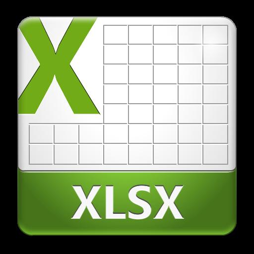 12 Xlsx File Icon PNG Images