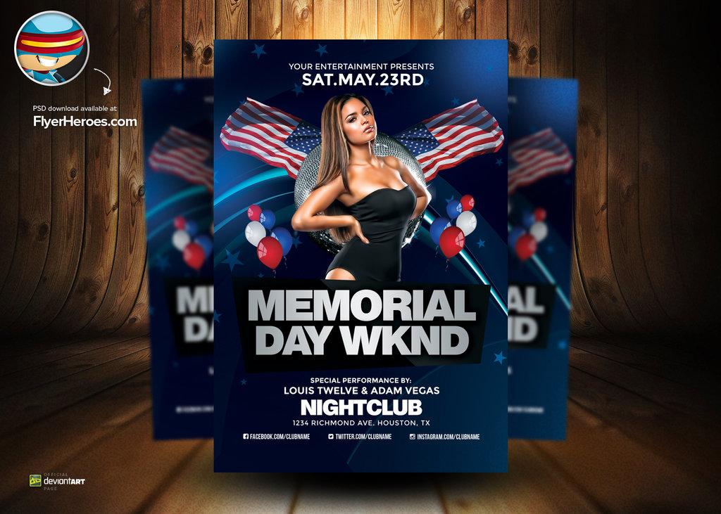 2015 Memorial Day Weekend Flyer Club