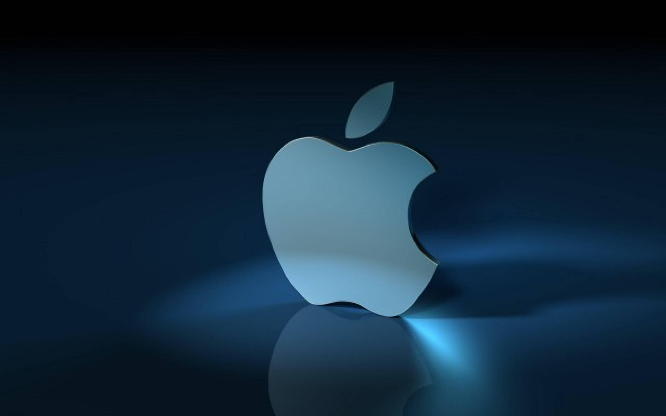 3D Apple Logo