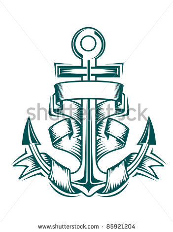 Anchor with Banner