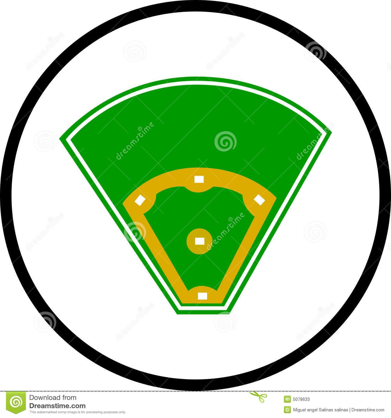 Baseball Field Symbol