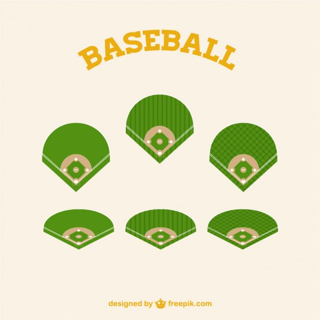 Baseball Field Vector Graphics
