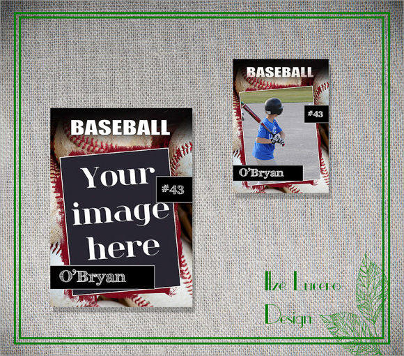 15 psd football trading card images baseball trading card template football trading card. Black Bedroom Furniture Sets. Home Design Ideas